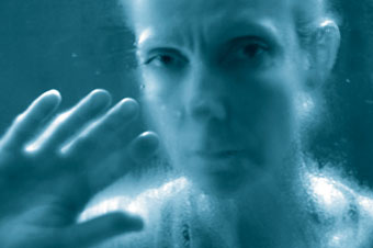 Unheard Voices: Invisible by Night (detail, video still), 2004