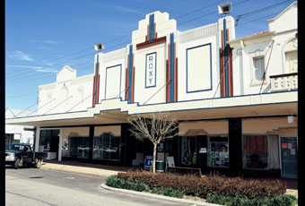 The restored Roxy cinema, Bingara, NSW