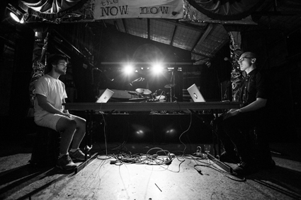 Marcus Whale, Ivan Lisyak, NOW now festival, 2015