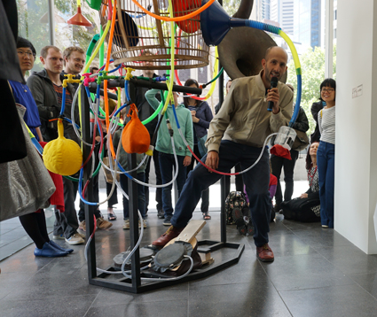 Dale Gorfinkel, Lotek Exercise Machine, 2014