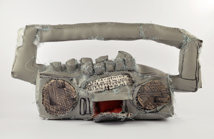 Terry Williams, Stereo 2011, vinyl fabric, cotton, stuffing and fibre-tipped pen, private collection, Melbourne