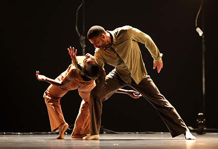 Ebony Williams, Nickemil Concepcion, Ten Duets on a Theme of Rescue, Crystal Pite, Cedar Lake Dance Company