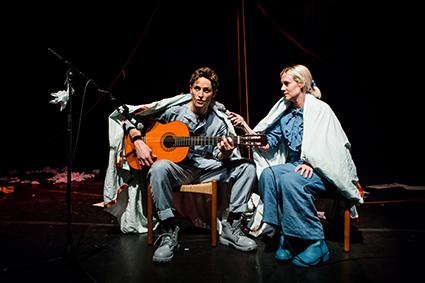Tim Grayburn, Bryony Kimmings, Fake it 'til you Make it, Theatreworks