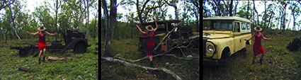 Habitus Habitat, 2006, performer Rebecca Youdell