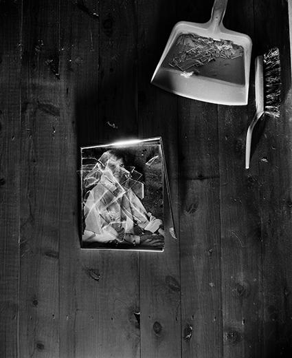 Trent Parke, Shattered portrait, Newcastle, 2009