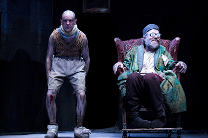 Tom Budge, Hugo Weaving in Sydney Theatre Company's Endgame
