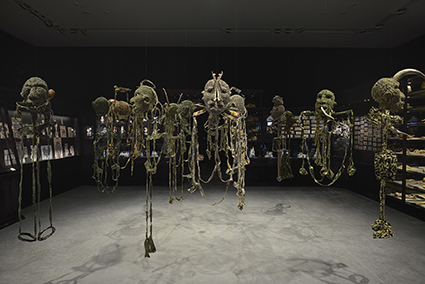 Fiona Hall, All the Kings Men (2014-15), Australian Pavilion