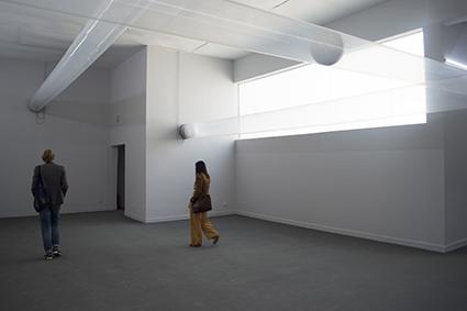 Helmo Zobernig installation, Austrian Pavillion, 2015