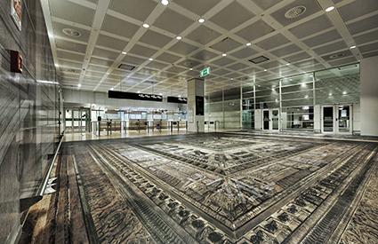 Secret Power, Simon Denny, Marco Polo Airport