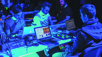 Laptop Orchestra, Electronic Music Unit, Elder Conservatorium of Music, Adelaide