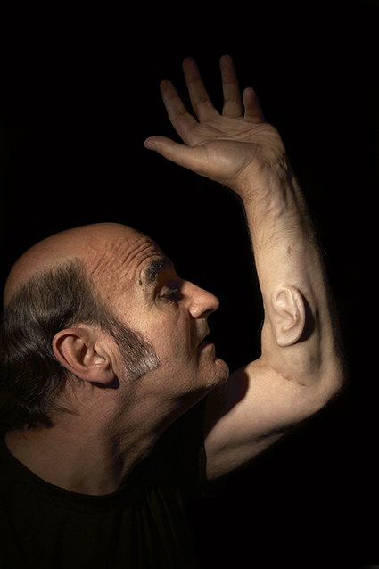 Stelarc Ear on Arm Portrait