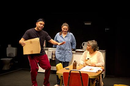 Luke Carroll, Shari Sebbens, Roxanne McDonald, The Battle of Waterloo, Sydney Theatre Company