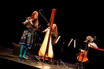 Defunensemble perform at the Ulumbarra Theatre