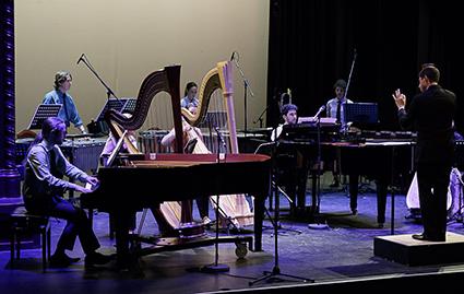 The Argonaut Ensemble perform Boulez's Sur Incises