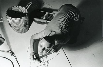 Joan Jonas, Organic Honey's Vertical Roll, ACE Gallery, LA, 1972