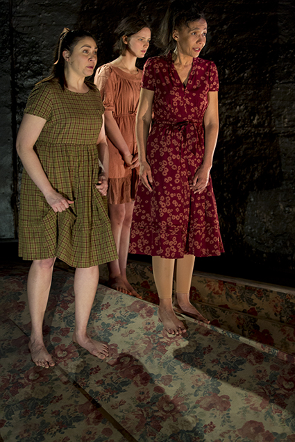 Shari Sebbens, Airlie Dodds, Paula Arundell, The Bleeding Tree, Griffin Theatre