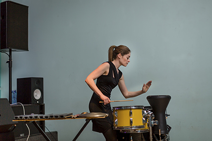 Louise Devenish, Electroacoustic Music for One Percussionist