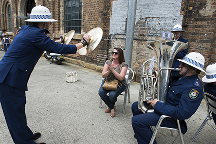 No Performance Today, Bree van Reyk & Lauren Brincat and New South Wales Police Band