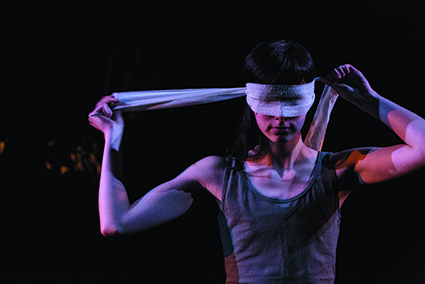 Carla Tilley in The Bacchae