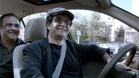 still from Tehran Taxi