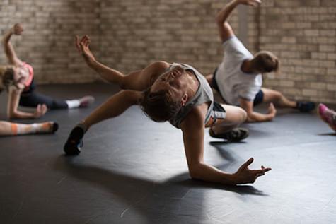 Joshua Thomson, Zackari Watt & Dancers, Propel workshop