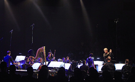 David Robertson conducts SSO, Crossing the Threshold, Carriageworks