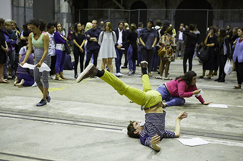 Manger, Musee de la Danse, Carriageworks, 2016