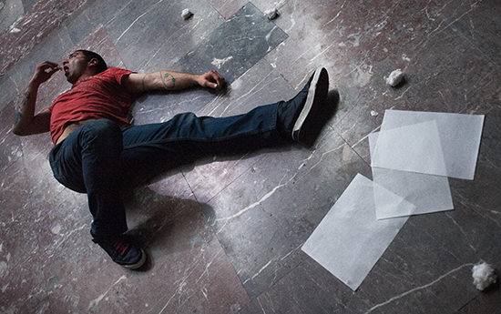 Manger, Boris Charmatz, Kunstenfestivaldesarts-Bozar, 2015