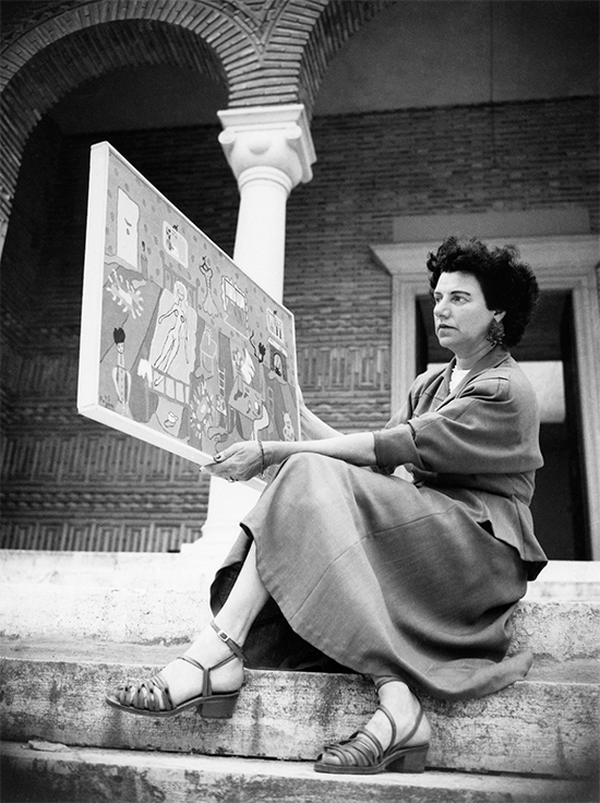 Peggy Guggenheim Collection Archives © 2015 Dakota Group Ltd
