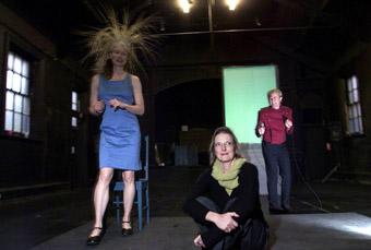 Magraret Mills, Jenny Kemp, Simon Wilton, Still Angela (Rehearsal)