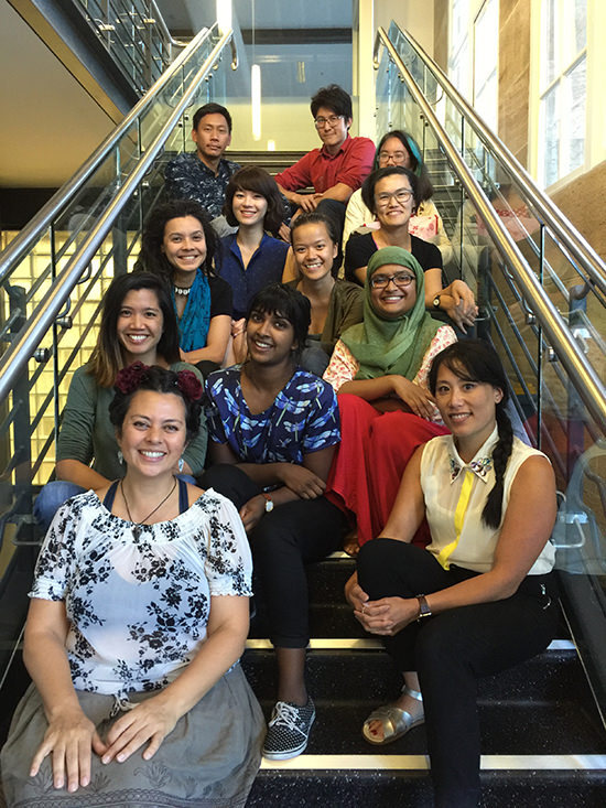 Participants in the Lotus Asian-Australian Playwriting Project, First Draft Intensive, 2016, Sydney