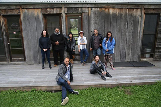 Participants in Indigenous Playwrights Bundanon Retreat, 2015