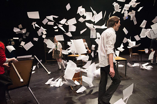 Sticks and Stones, music theatre work performed by students at the Centre for Theatre & Performance, Monash University