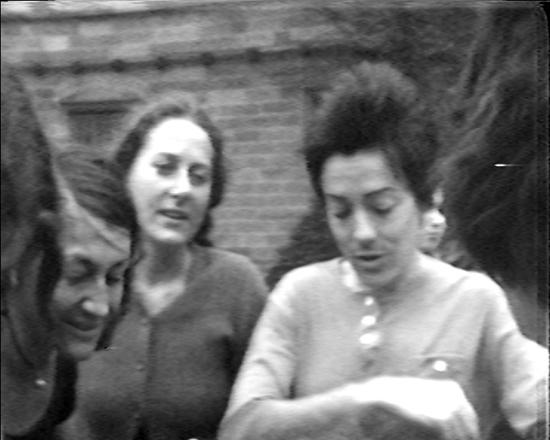 Philippa Cullen, Helen Herbertson, Sydney University Quadrangle, 1974