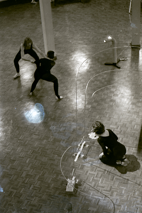 Rehearsal, Homage to Theremin II