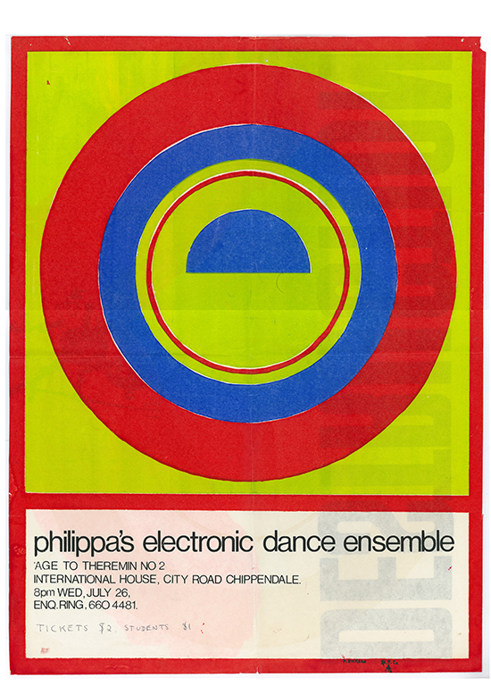 Poster, Philippa Cullen's Homage to Theremin II