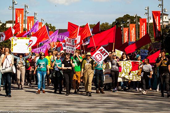Save SCA rally, Camperdown campus