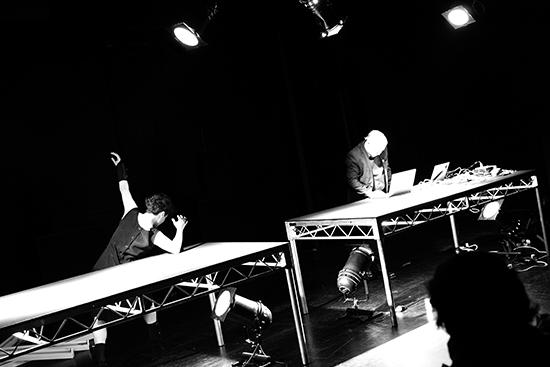 Myriam Gourfink, Kasper Toeplitz, Data_Noise, BIFEM 2016