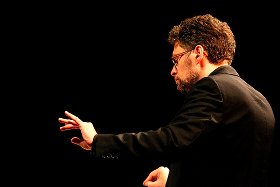 Carl Rosman conducts ELISION Ensemble & students from ANAM, Machine for Contacting the Dead