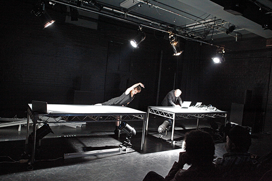 Myriam Gourfink, Kaspar Toeplitz, Data_Noise, BIFEM 2016