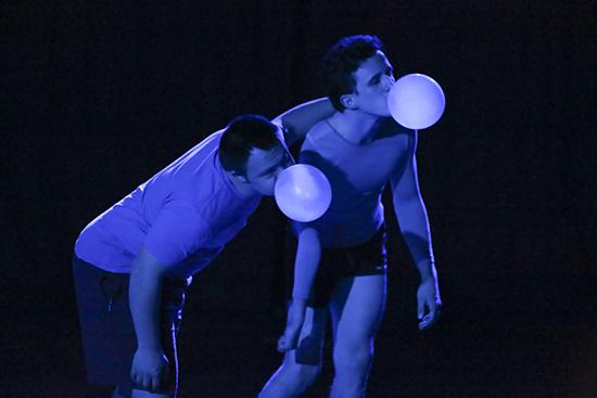 Andrew Mujunen, Daniel Monks, Second Skin, 2013, choreographer Dean Walsh, Catalyst Dance Masterclass Series
