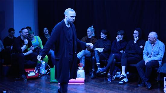 Hyperspirit, Marcus McKenzie, Melbourne Fringe Festival