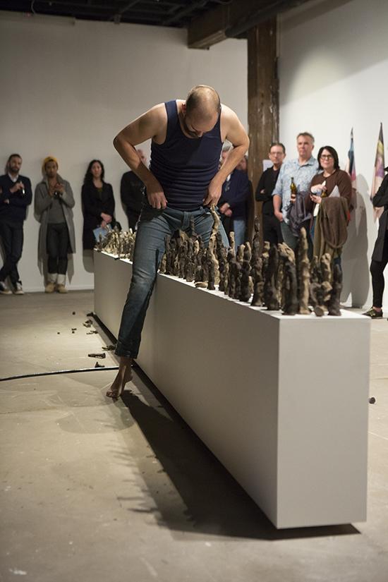 Mark Shorter, 6 metres of Plinth, Artspace