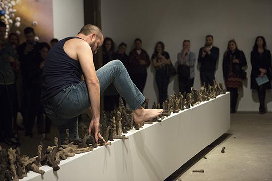 Mark Shorter, 6 metres of Plinth, Artspace, Sydney