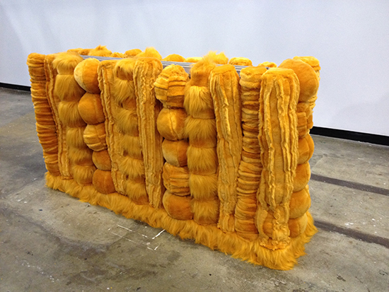 Kathy Temin, Pet Tomb, 2014, courtesy the artist, Roslyn Oxley9 Gallery, Sydney and Anna Schwartz Gallery, Melbourne. Soft Core, Casula Powerhouse