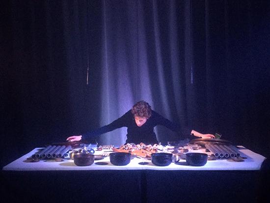 Fault Traces, Matthias Schack-Arnott, Unconformity Festival
