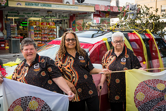 Indigenous Women of Fairfield, In the Round, Zoe Scoglio for Women of Fairfield