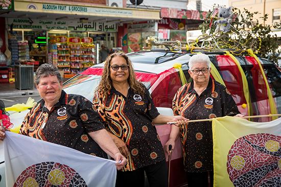 Indigenous Women of Fairfield, In the Round, Zoe Scoglio for Women of Fairfield