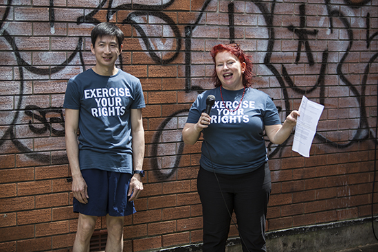 Timothy Lum, Deborah Kelly, Exercise Your Rights, We The People