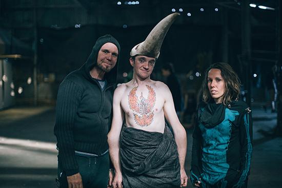 Dean Walsh, Matt Shilcock and Mel Tyquin, Underbelly Arts 2015